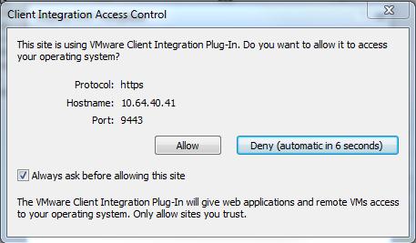 DeployOVF-SecuritySetting